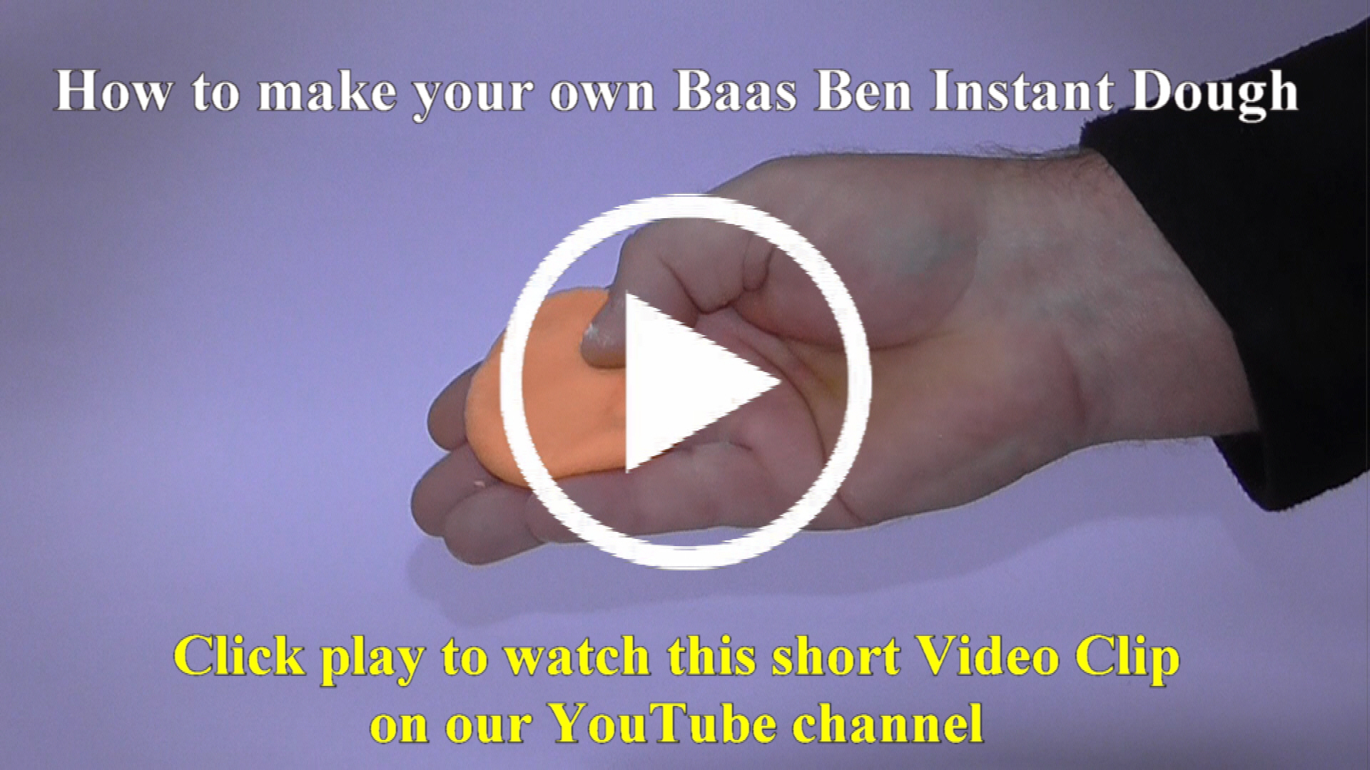 how to make your own baas ben  instant dough thumbnail